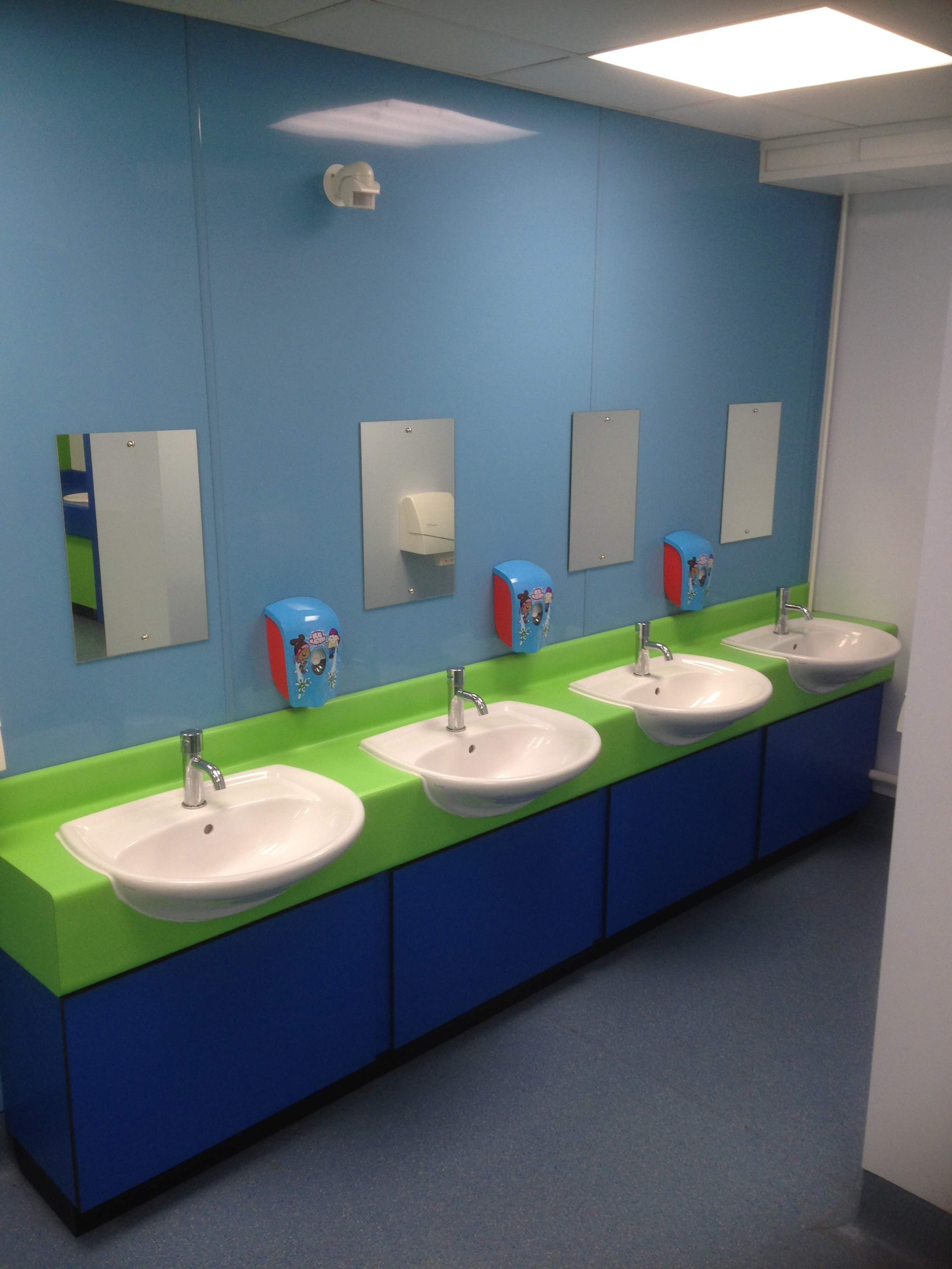 Hygienic Wall Cladding - Province Building Services Ltd